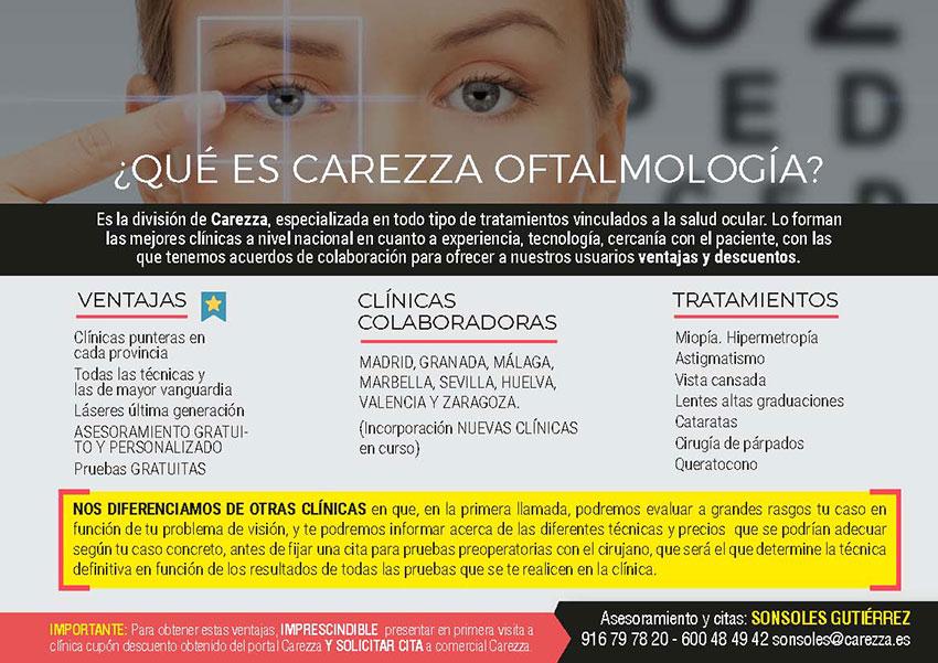 Oftalmología Carezza CPPM