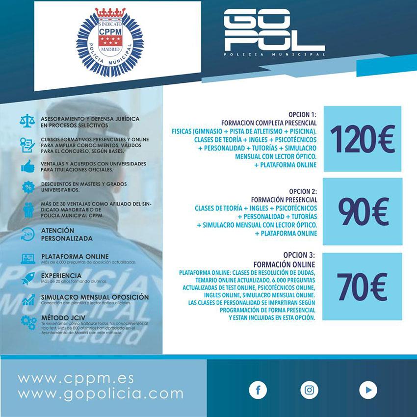 Precios GOPOL-CPPM