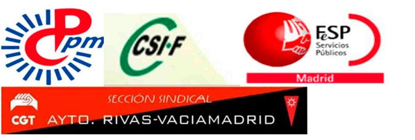 secciones sindicales Ayto Rivas-Vaciamadrid