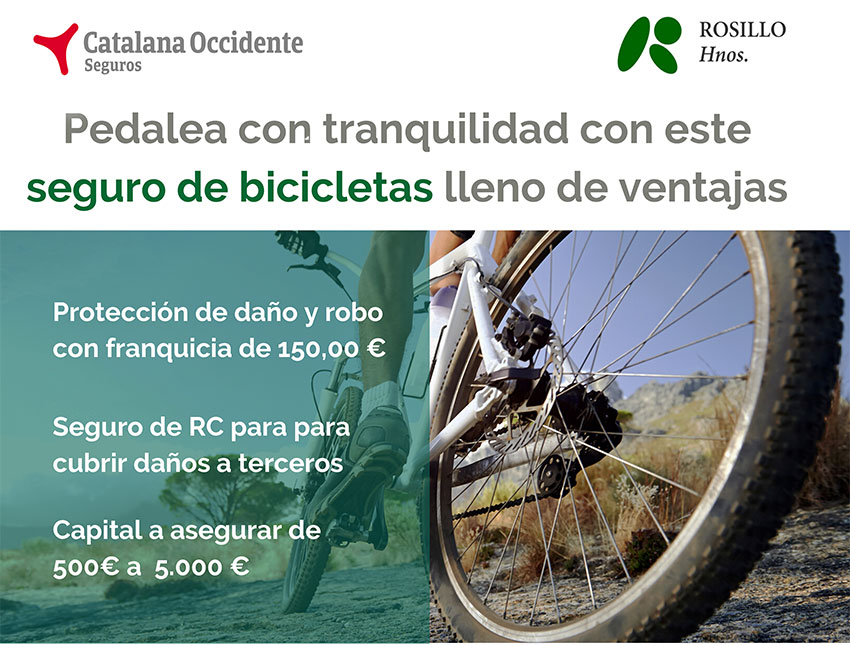 Seguro bicicleta Catalana Occidente CPPM