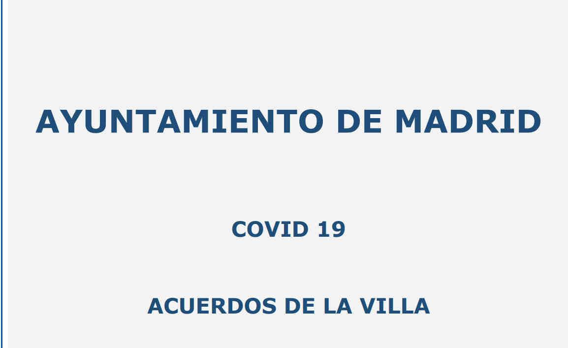 Acuerdos de la Villa Ayto Madrid