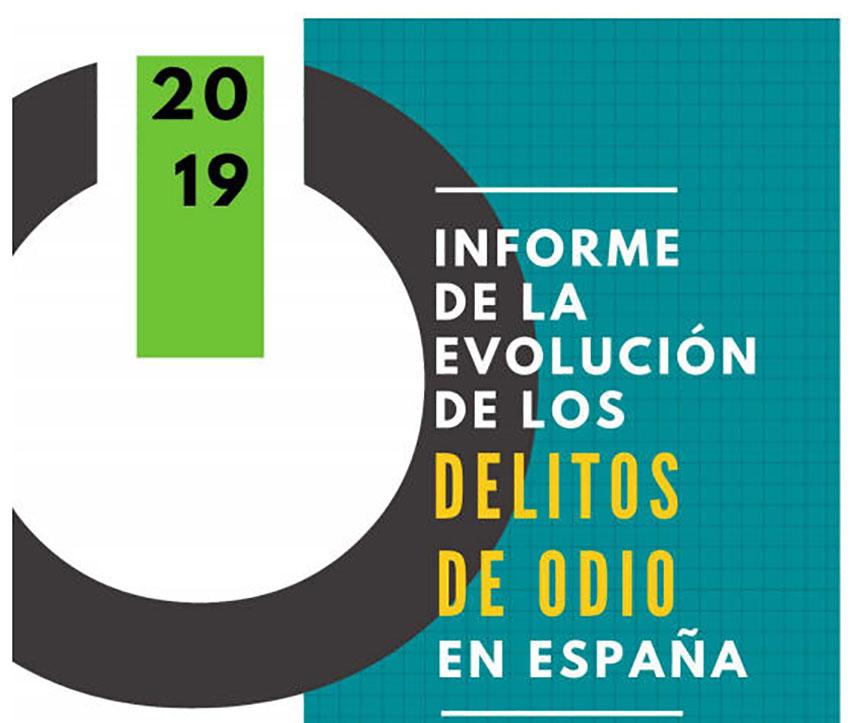 Informe evolución delitos odio en España 2019
