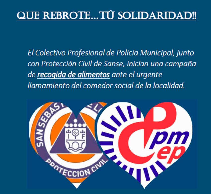 Que rebrote tu solidaridad CPPM Sanse