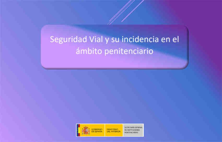 Primer informe sobre seguridad vial ámbito penitenciario