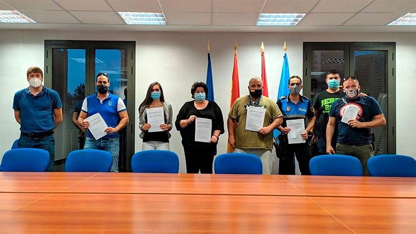 Acuerdo 13 plazas Policía local Aranjuez
