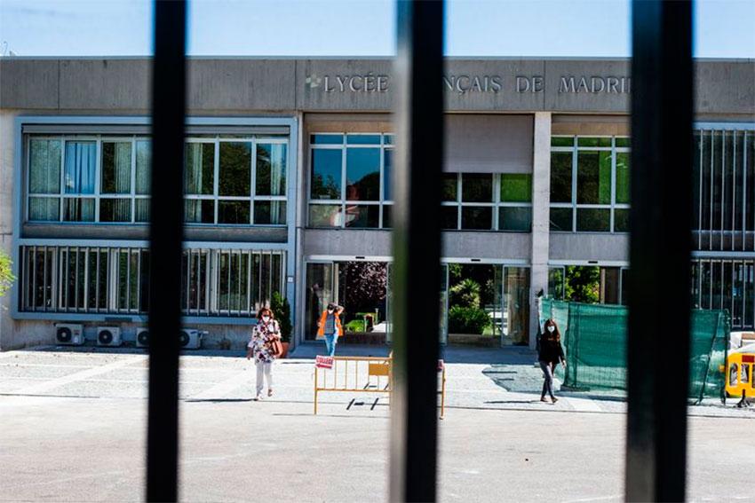 Centro educativo Comunidad Madrid