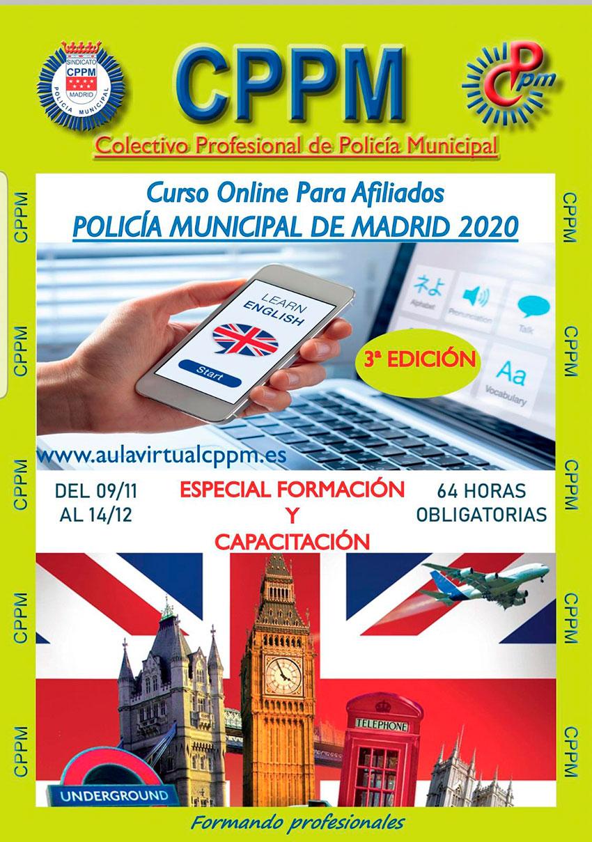 Curso online ingles tercera edición 64 horas Acuerdo Policía