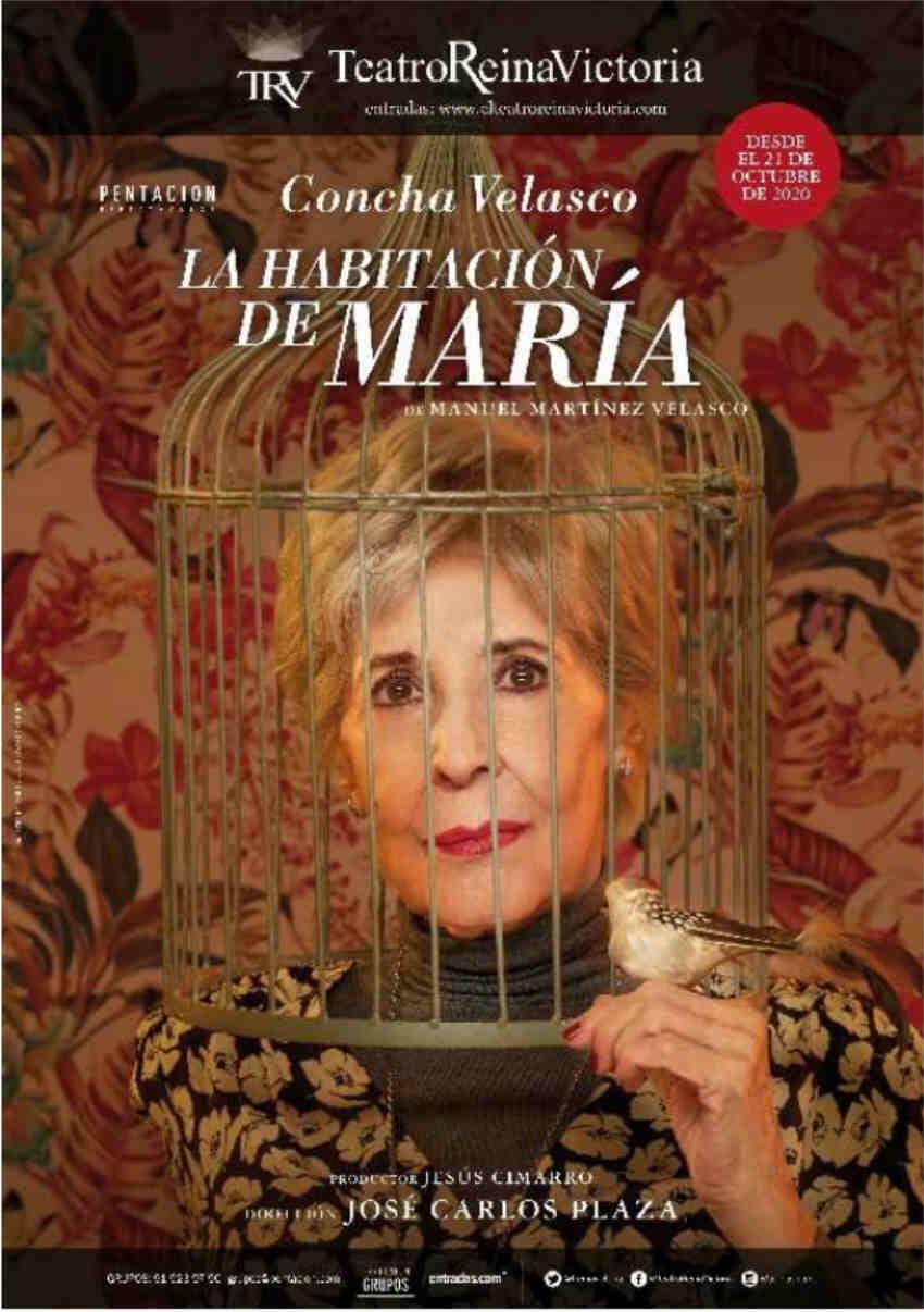 La habitación de María Concha Velasco