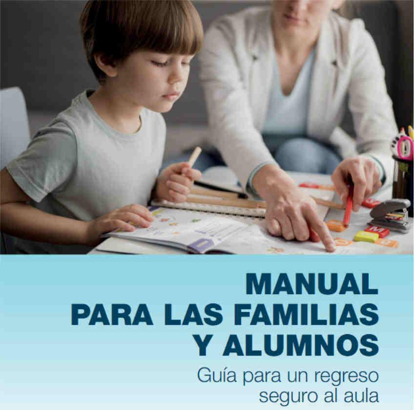 Manual para las familias y alumnos guia regreso seguro aulas