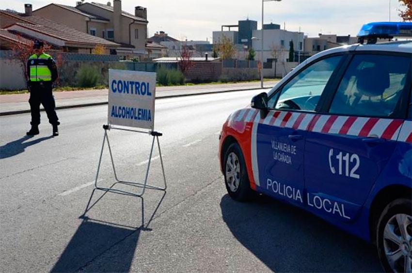 Policía local Villanueva de la Cañada