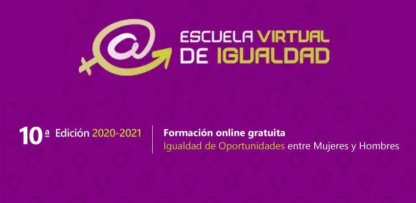 10º edición curso igualdad escuela virtual de igualdad