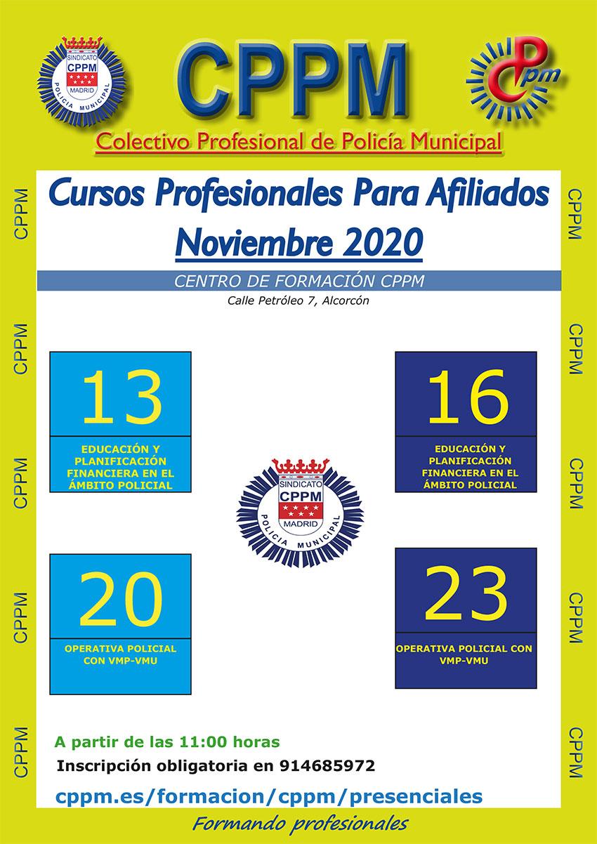 Cursos CPPM noviembre 2020