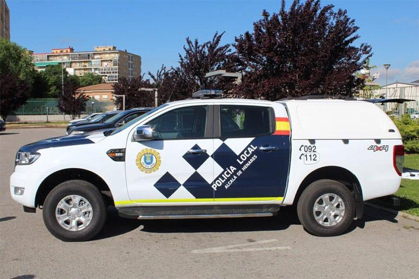 Policía local Alcala de Henares coche