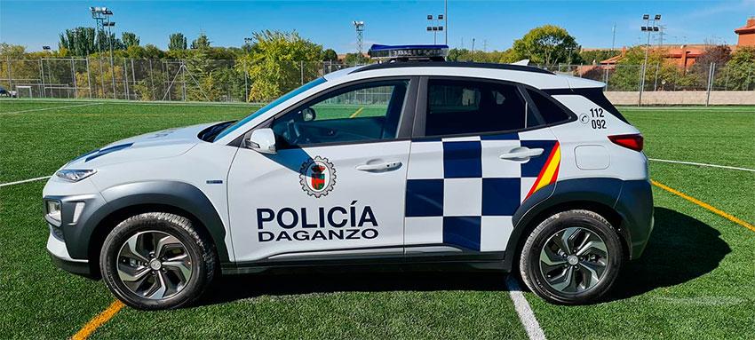Policía local Daganzo de Arriba