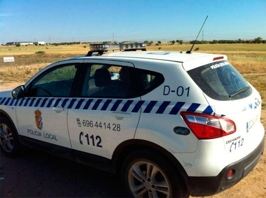 Policía local Griñón coche