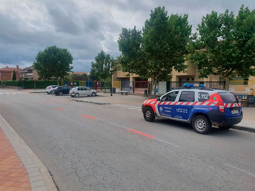 Policía local Guadalix de la Sierra coche