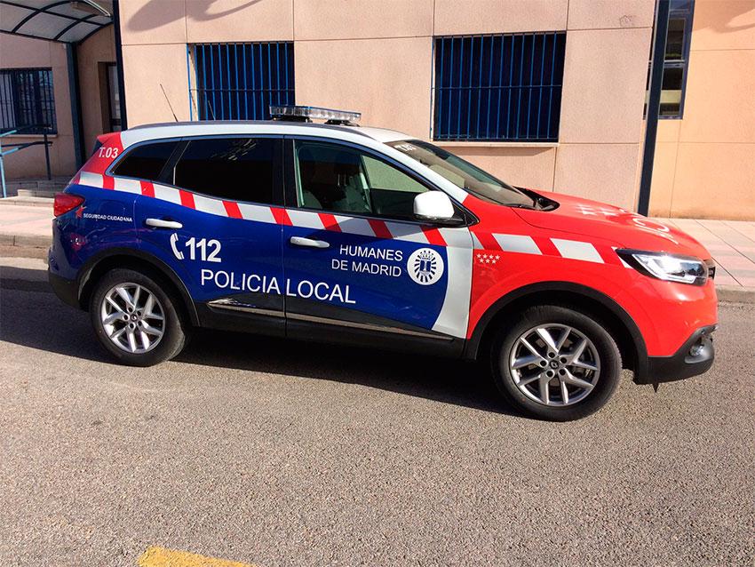 policia-local-humanes-madrid-coche