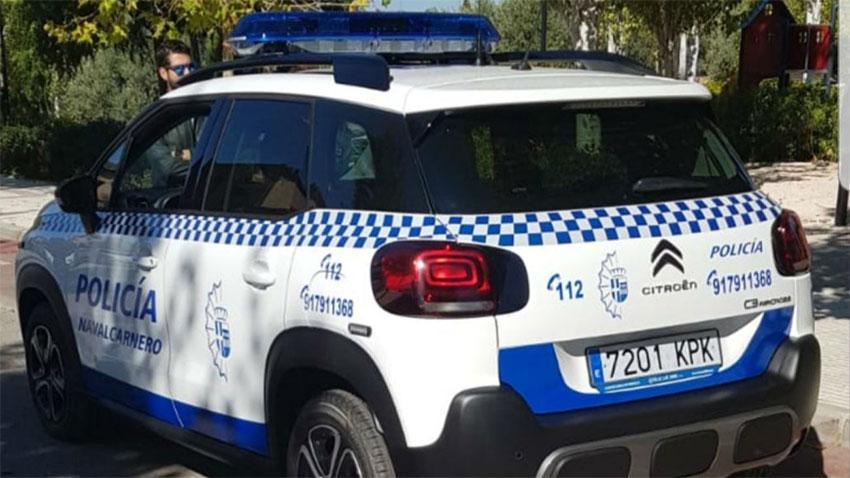 Policía local navalcarnero coche