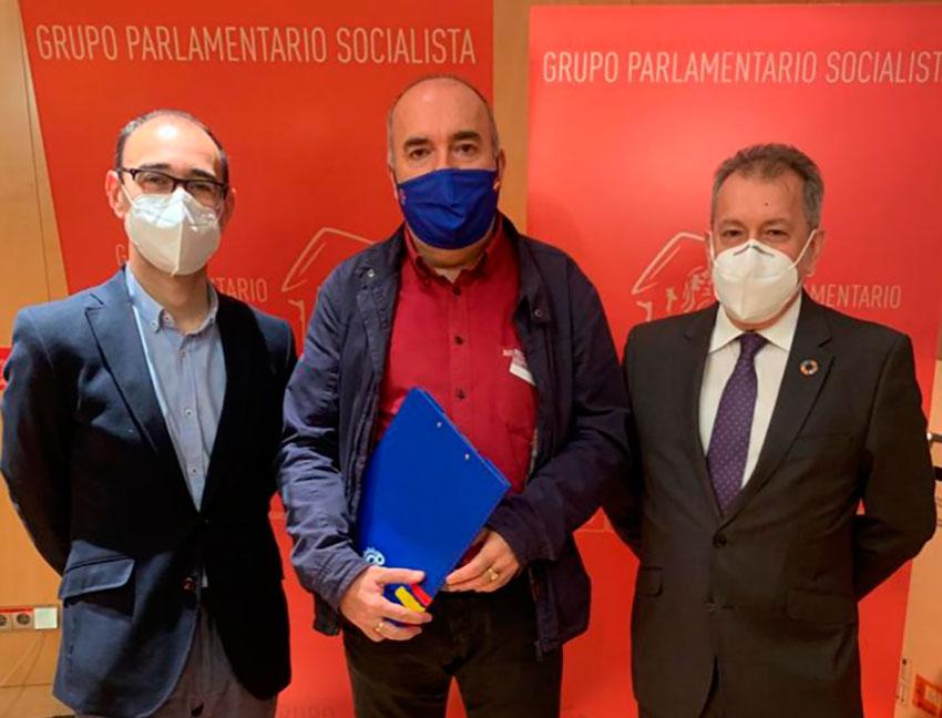 Reunión PSPL Congreso Diputados Grupo Socialista