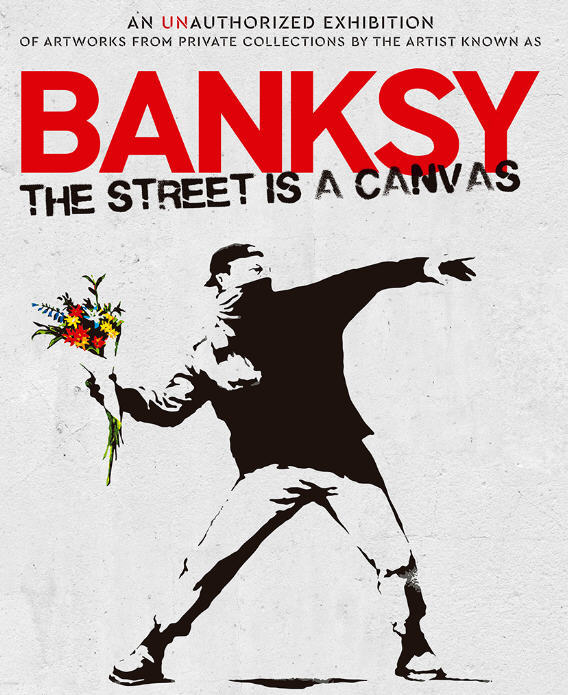 Banksy The Street is a Canvas exposición Madrid