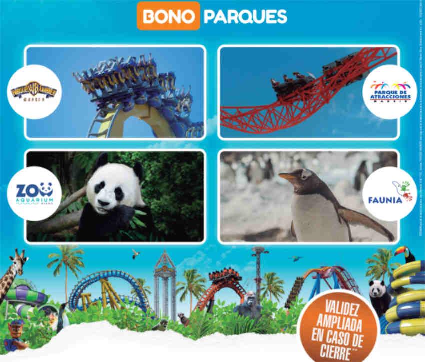 Bono parques oro 2021