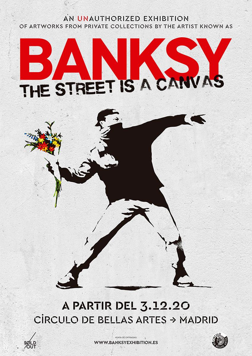 Banksy The Street is a Canvas exposición Madrid