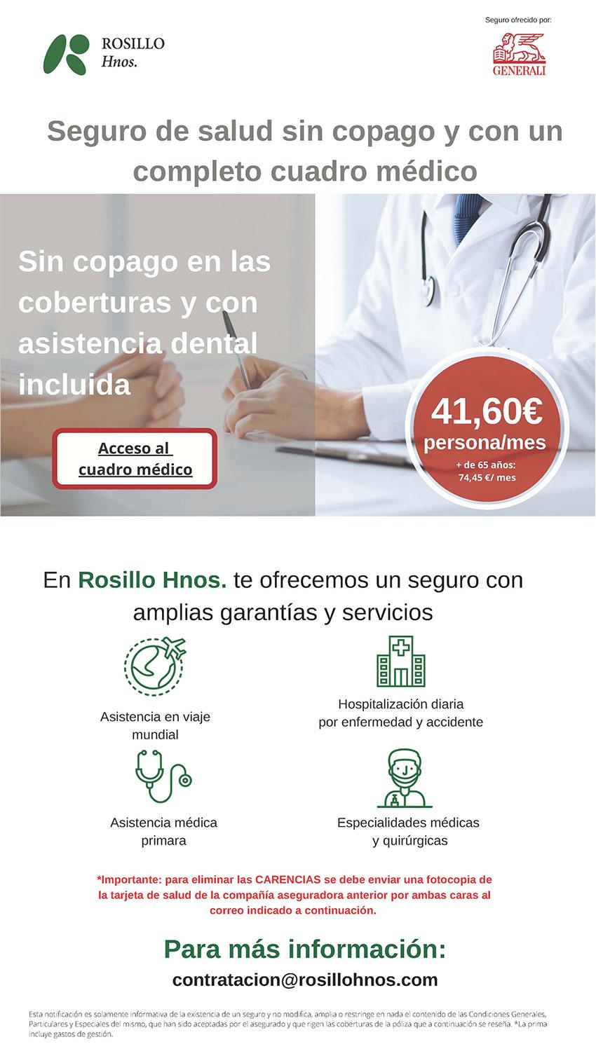 Gnerali salud 2021 Rosillo Hermanos CPPM