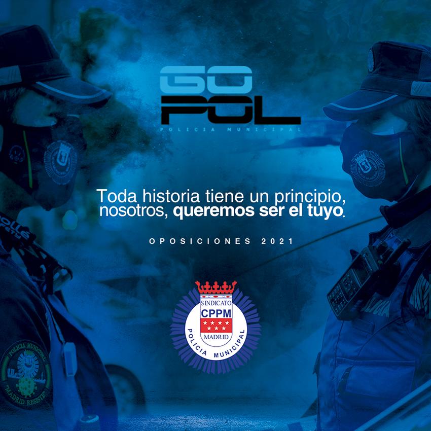 GOPOL-CPPM oposiciones Policía Municipal 2021