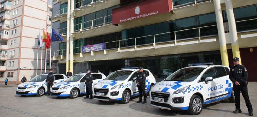 Policía local Fuenlabrada coche