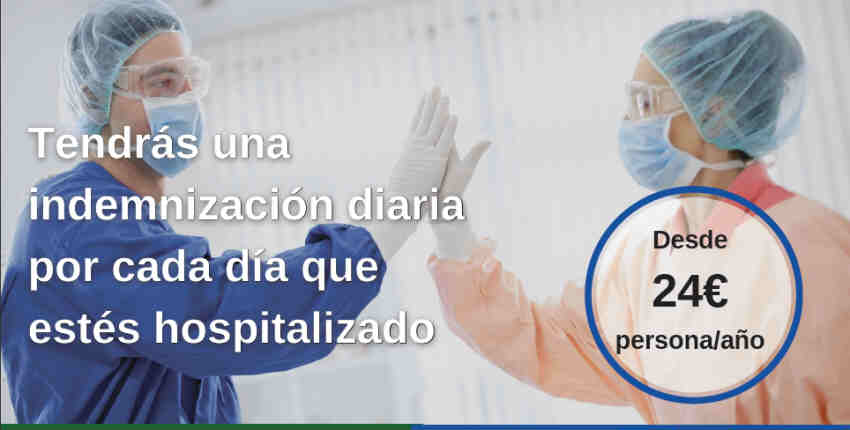 Seguro hospitalización por COVID-19 Previsión Mallorquina