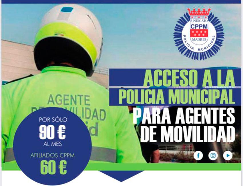 Acceso a policía municipal para agentes movilidad gopol