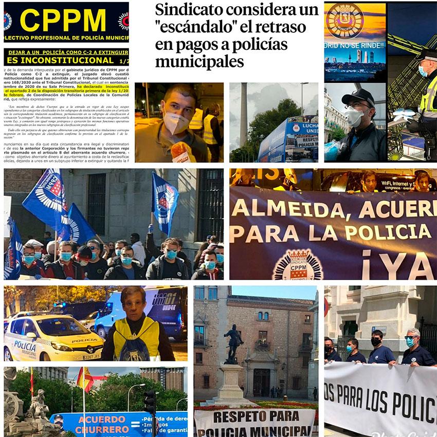 CPPM Madid defendiendo derechos policias municipales madrid