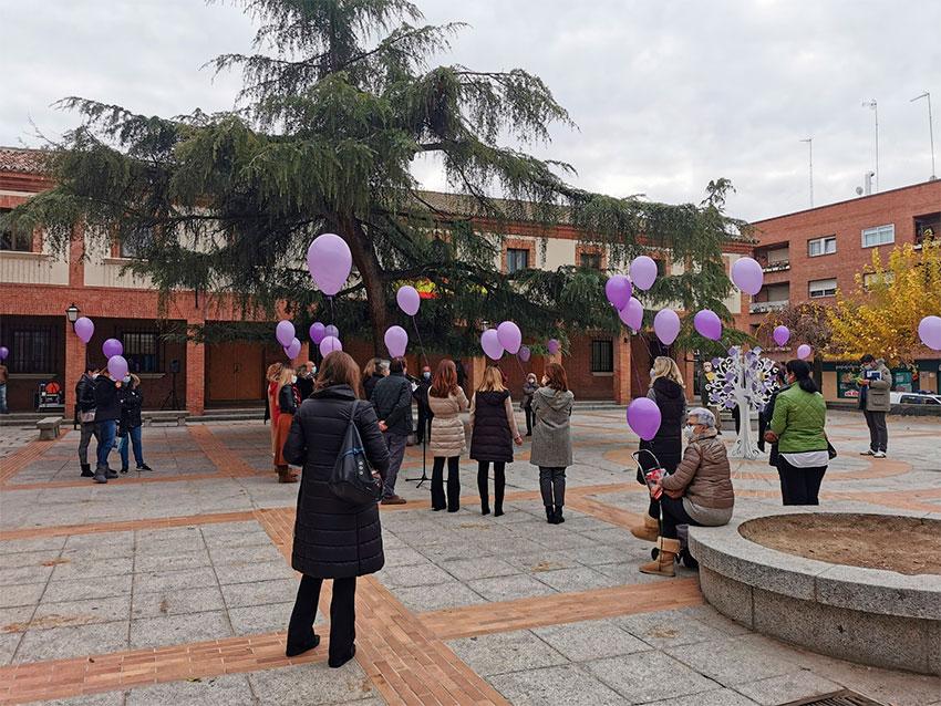Dia Mundial contra la violencia de genero Las Rozas