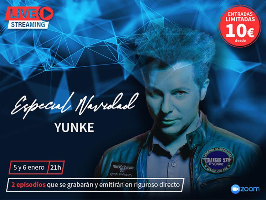 Mago Yunke live streaming 5 y 6 enero 2021