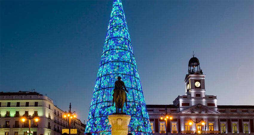 Arbol navidad Puerta del Sol