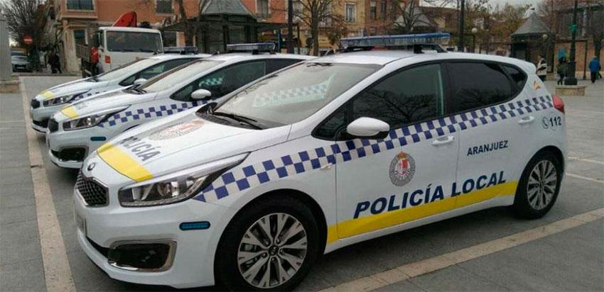Policía local aranjuez coche