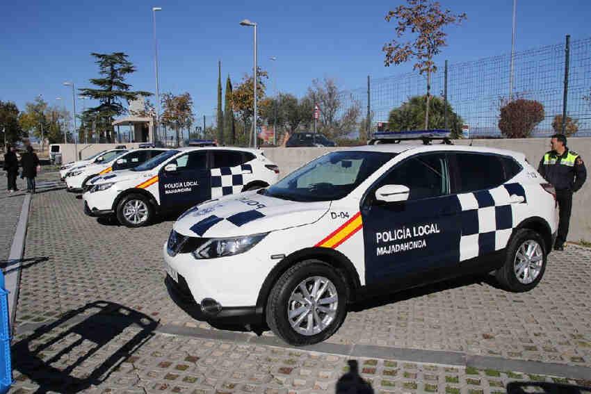 Policía local Majadahonda coche