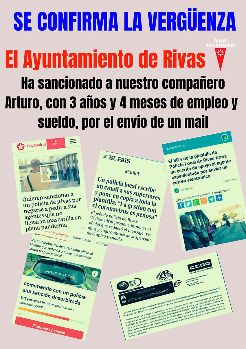 Se cofirma la vergüenza Rivas-Vaciamadrid