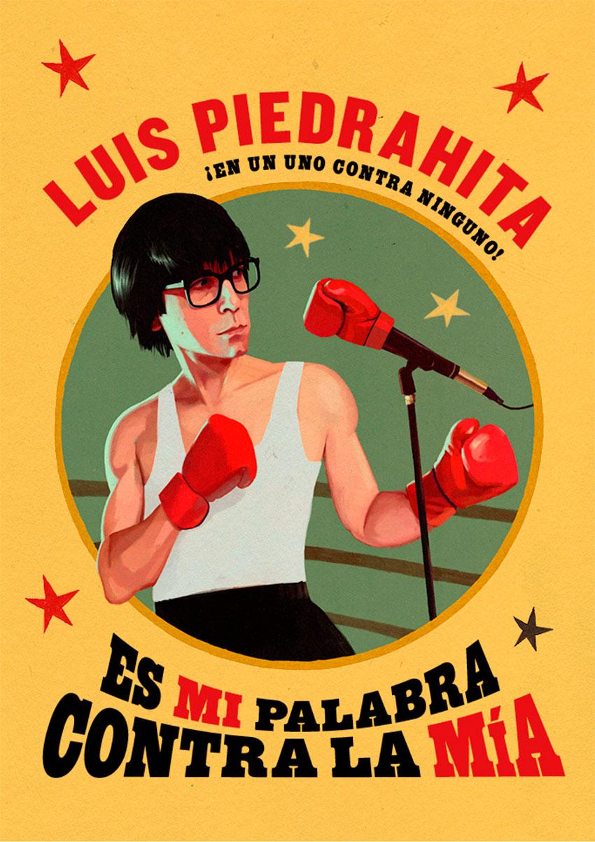 Es mi palabra contra la mía, con Luis Piedrahita