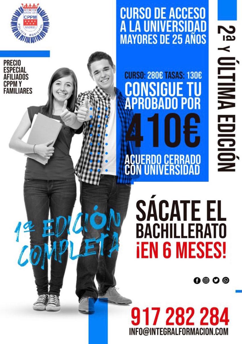 Acceso Universidad Integral Formación