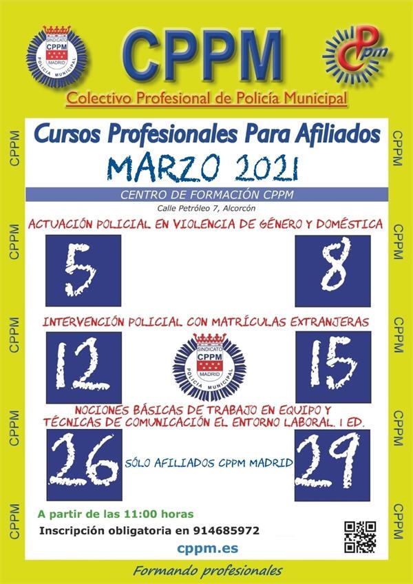 Cursos CPPM marzo 2021