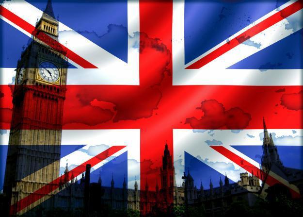 Bandera Inglaterrra inglés
