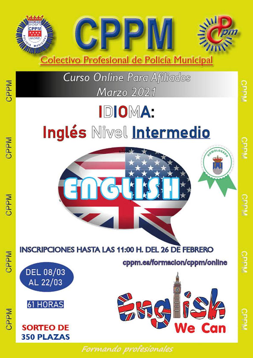 Inglés nivel intermedio cppm online