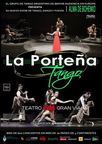 Porteña tango teatro CPPM