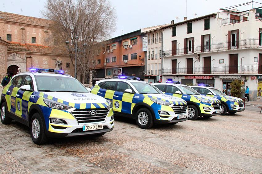 Policía local Arganda del Rey