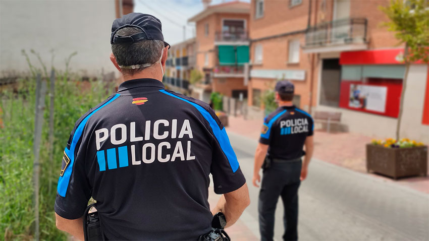 Policía local Manzanares el Real