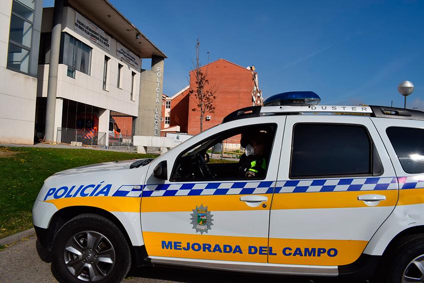 Policía local Mejorada del Campo