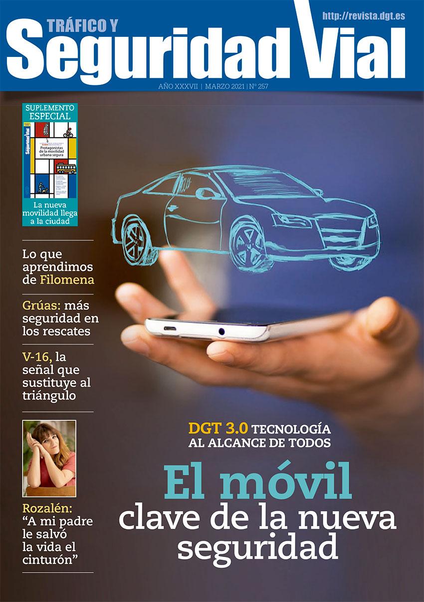 Revista tráfico y seguridad vial marzo 2021