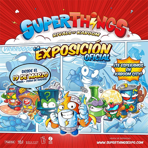 Supertnings la exposición oficial Madrid CPPM