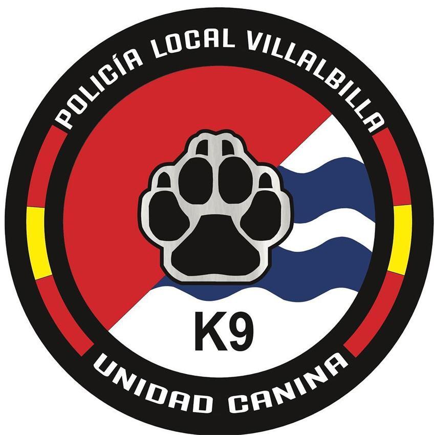 Unidad canina policía local villalbilla